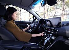 Hyundai Santa Fe - samochód jak smartfon. Z czytnikiem linii papilarnych
