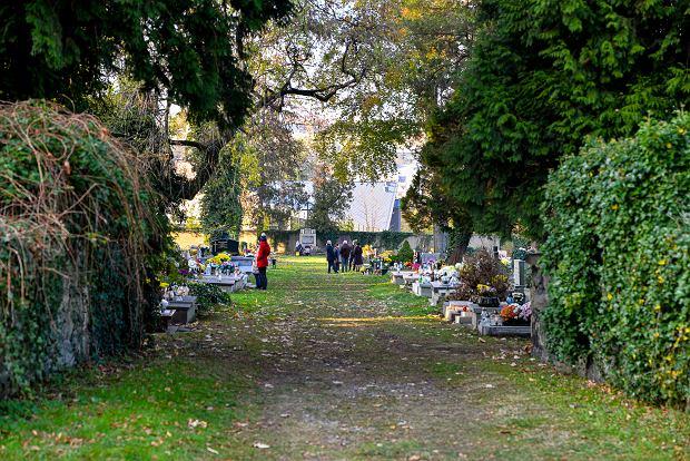 Zdjęcie numer 26 w galerii - 1 listopada w Bielsku-Białej. Kwiaty, wieńce i znicze na grobach [ZDJĘCIA]