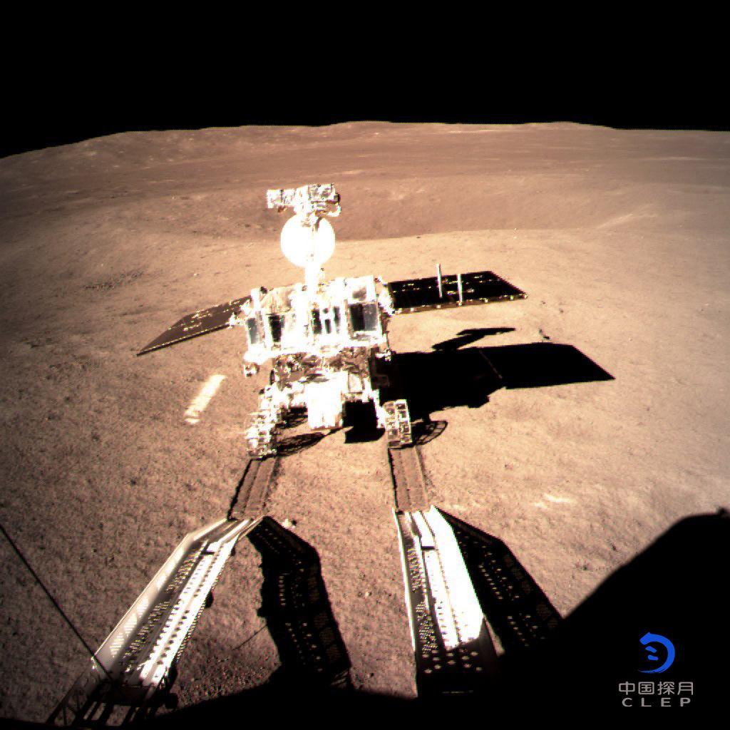 Pierwsze zdjęcie chińskiego łazika Yuyu 2 na Księżycu