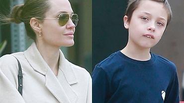 Angelina Jolie z synem Knoxem