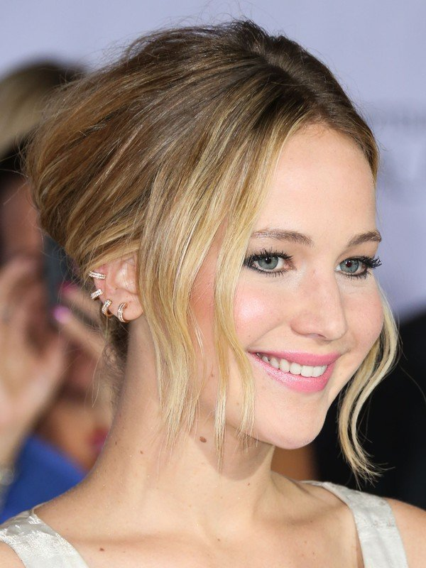 Actress Jennifer Lawrence arrives at the Los Angeles premiere of Lionsgates The Hunger Games: Mockingjay, Part 1 held at Nokia Theatre LA Live on November 17, 2014 in Los Angeles, California, United States.  Pictured: Jennifer Lawrence
