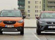 Opel Crossland X 1.2 Turbo vs. Seat Arona 1.0 TSI - porównanie. Nowe rozdanie wśród małych crossoverów