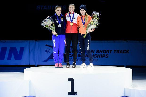 Zdjęcie numer 3 w galerii - Natalia Maliszewska w shorttracku pierwsza jak zwykle: tym razem jako pierwsza Polka ze złotem mistrzostw Europy