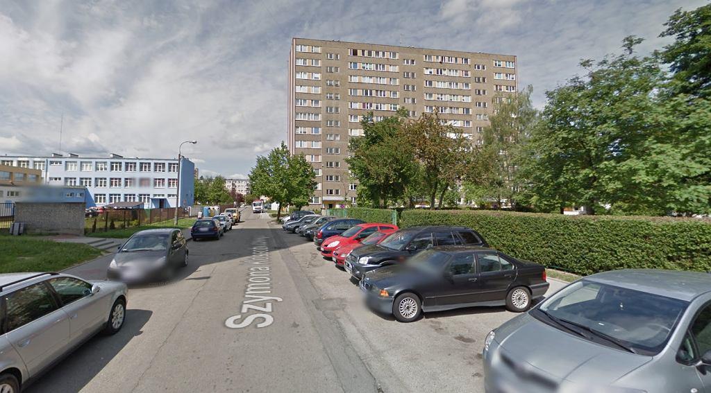 47-latek chciał wysadzić blok przy ul. Kossobudzkiego w Płocku. Na zdjęciu: ul. Kossobudzkiego w Płocku