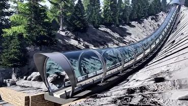 Tunel na Wielkiej Krokwi