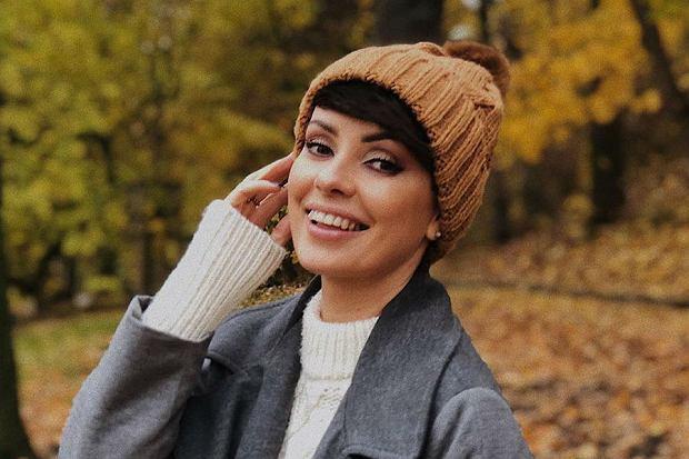 Dorota Gardias w uroczym sweterku firmy La Gabrielle. Wygląda pięknie!