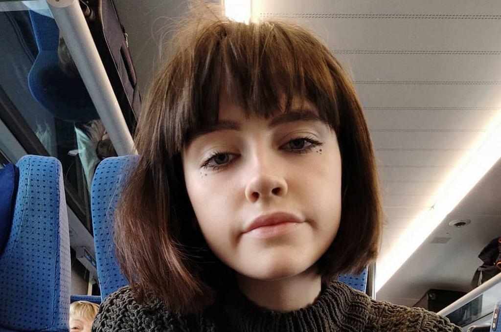 Olga Kleczkowska z 'Top model'
