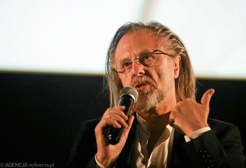 Spotkanie z Janem A.P. Kaczmarkiem, twórcą festiwalu Transatlantyk, z cyklu WYBORCZA NA ŻYWO