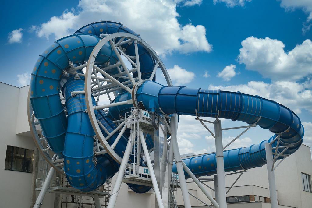 AquaSpinner w Redzie jest pierwszą taką zjeżdżalnią w Europie