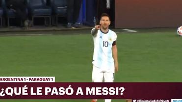 Kamery nagrały reakcję Messiego. Wiadomo, co powiedział do sędziego