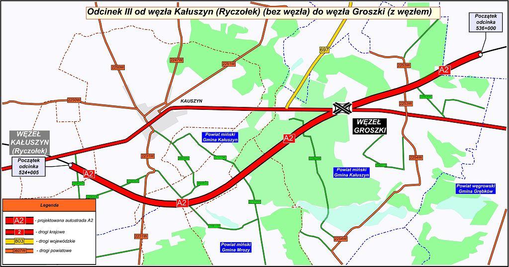 Autostrada A2, pierwszy odcinek Mińsk
