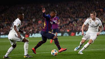 Były gracz Barcelony zrugany.