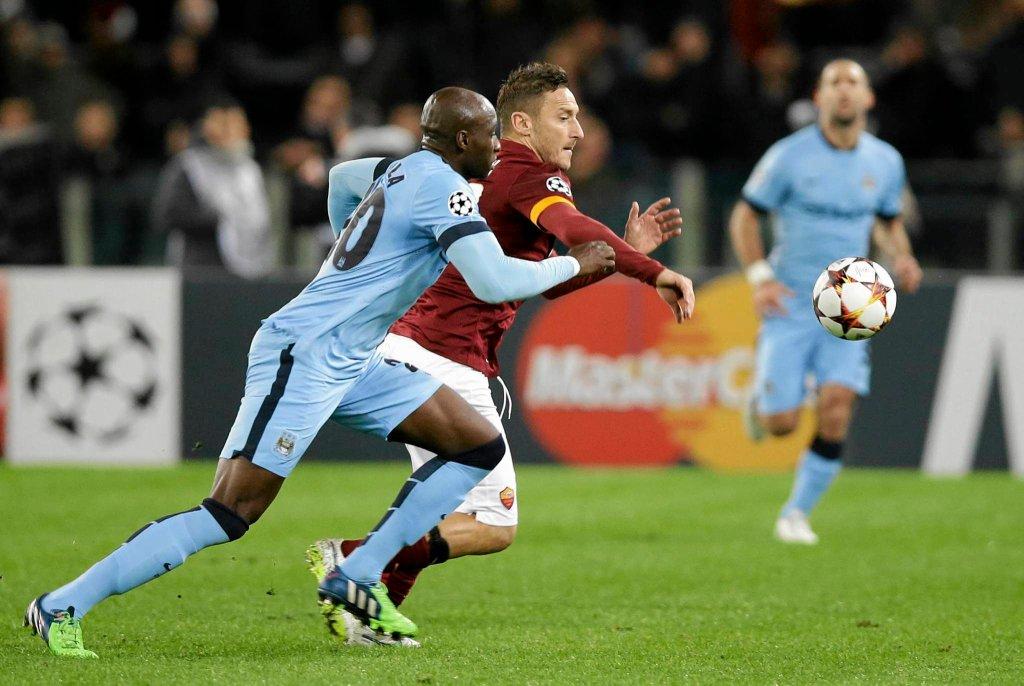 Mecz Roma - Manchester City