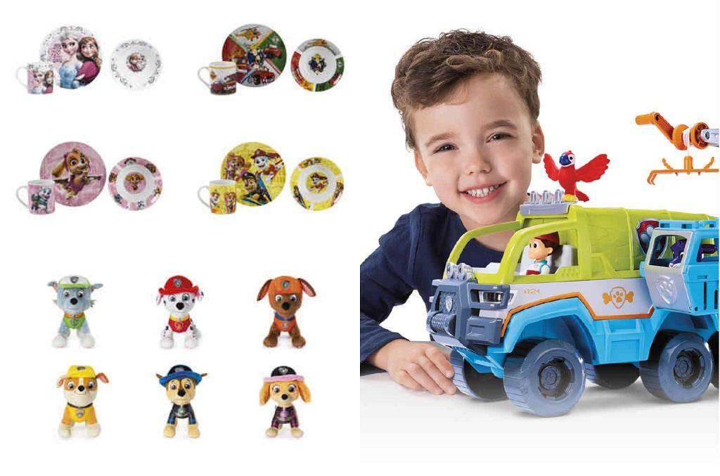 Lidl. Promocja na zdalnie zabawki z 'Psiego patrolu'