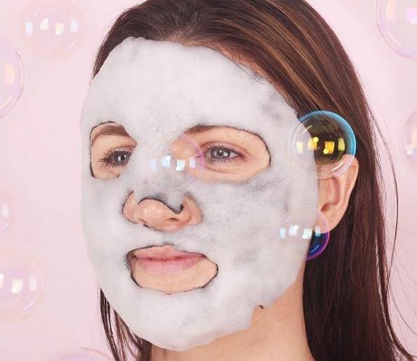 Maseczki bąbelkowe na twarz