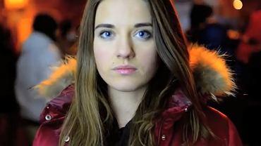 Młoda Ukrainka z Kijowa, która na nagraniu wystosowała do świata apel o pomoc dla Ukrainy