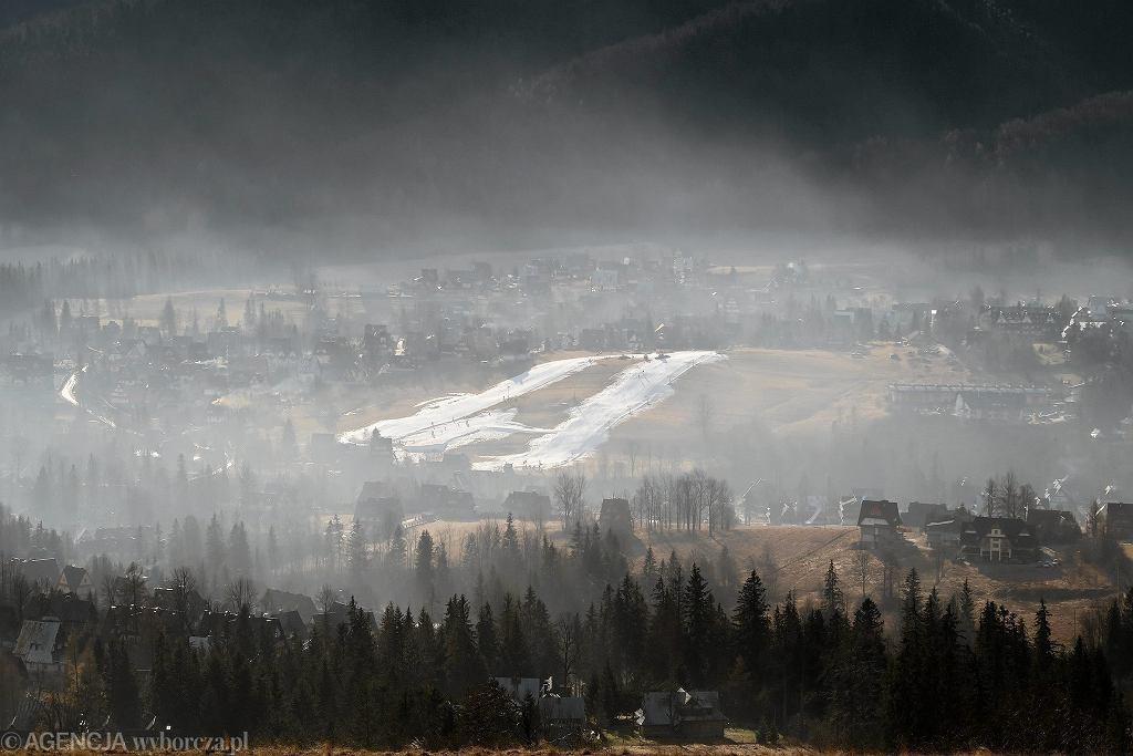 Smog nad Zakopanem