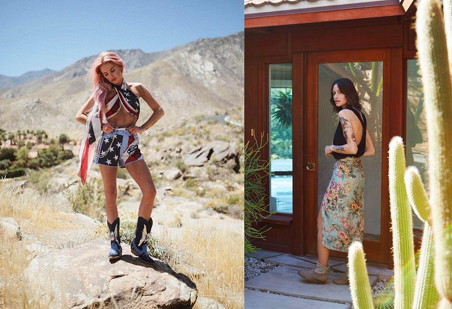 Kalifornia na Instagramie Maffashion i w kampanii The Odder Side