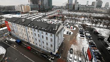 Biurowiec spólki Srebrna przy ulicy Srebrnej 16 w Warszawie