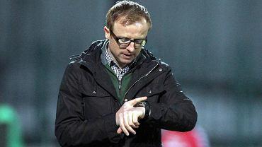 Trener Polonii Piotr Stokowiec