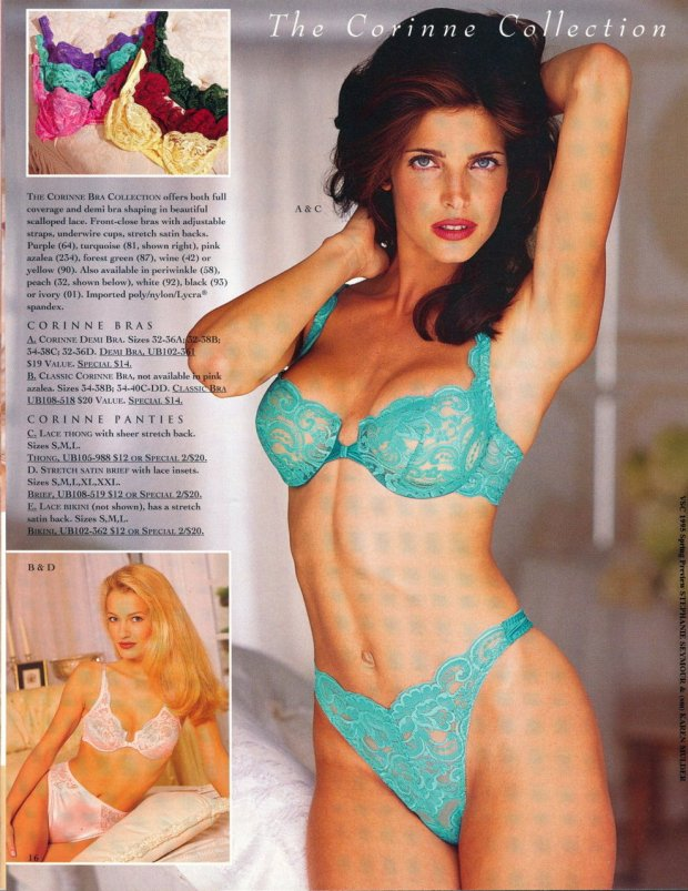 Katalog Victoria's Secret, późne lata 90.