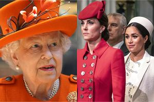 Księżna Kate, Meghan Markle, królowa Elżbieta
