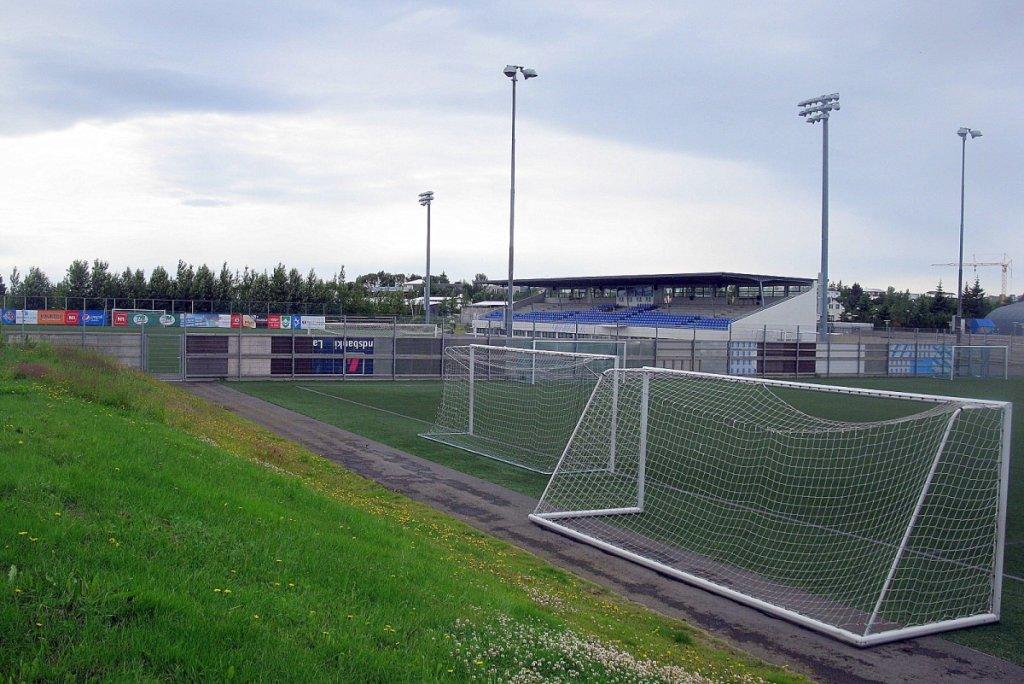 Stadion, na którym swoje mecze rozgrywają piłkarze Stjarnan
