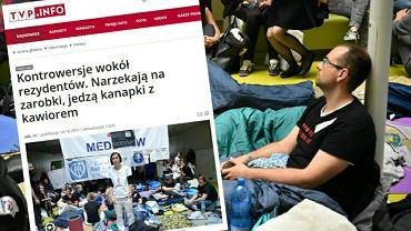 Protest głodowy młodych lekarzy