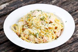 Makaron z łososiem - pyszny i zdrowy obiad