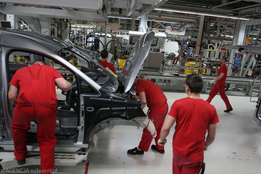 Fabryka samochodów VW w Poznaniu