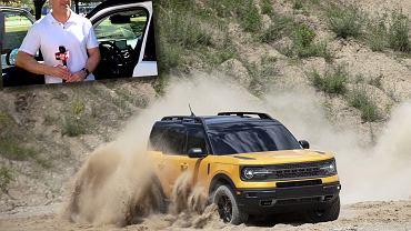 Ford Bronco Sport i Adam Sidoti