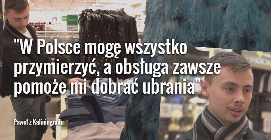 Paweł z Kaliningradu o zakupach w Olsztynie