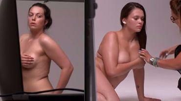 Kadry z programu 'Supermodelka Plus Size'