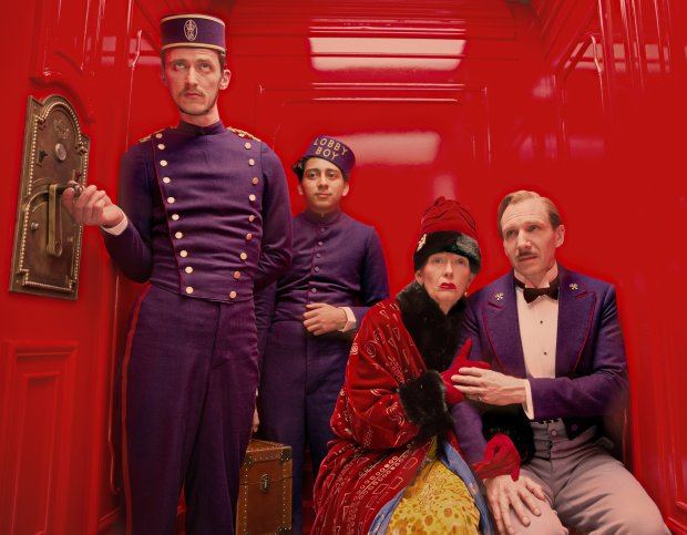 Grand Budapest Hotel (The Grand Budapest Hotel), reż. Wes Anderson