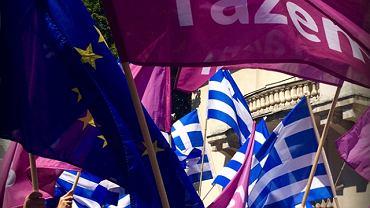 """Partia """"Razem"""" solidarna z Grecją"""