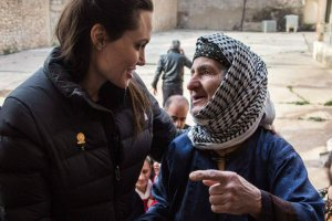 Angelina Jolie w Iraku