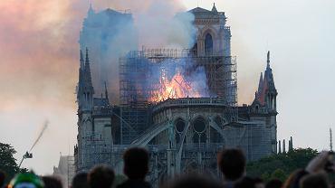 Pożar katedry Notre Dame w Paryżu