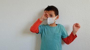 Dziecko - koronawirus