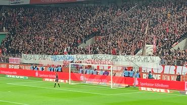 Transparent kibiców Schalke