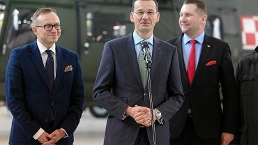 Artur Soboń (po lewej), sekretarz stanu w Ministerstwie Inwestycji i Rozwoju