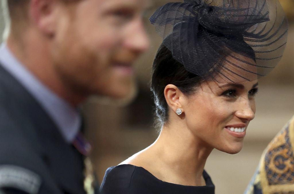 Meghan Markle (księżna Meghan) i książę Harry