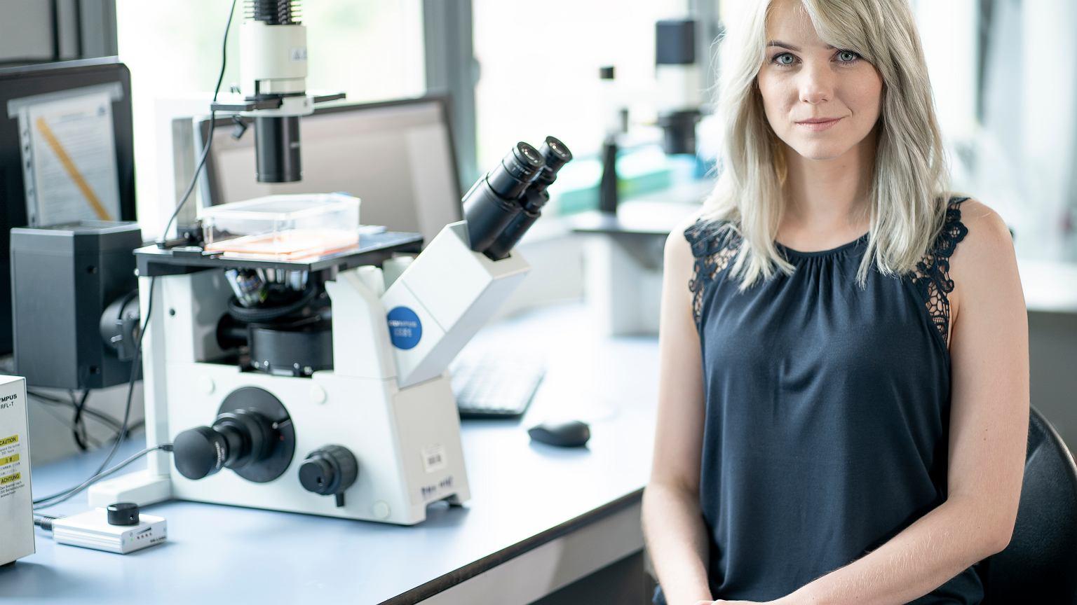 Karolina Pierzynowska może pomóc 44 milionom ludzi chorym na Alzheimera
