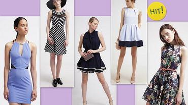 Sukienki podkreślające wcięcie w talii