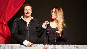 Marzena Biernacka i Ewa Wituszyńska, założycielki marki Plum Blum produkującej kulki do ćwiczeń mięśni Kegla