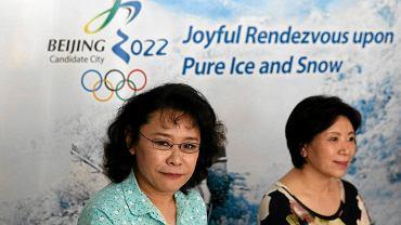 Zhang Haidi, wiceprzewodnicząca komitetu organizacyjnego Pekin 2022