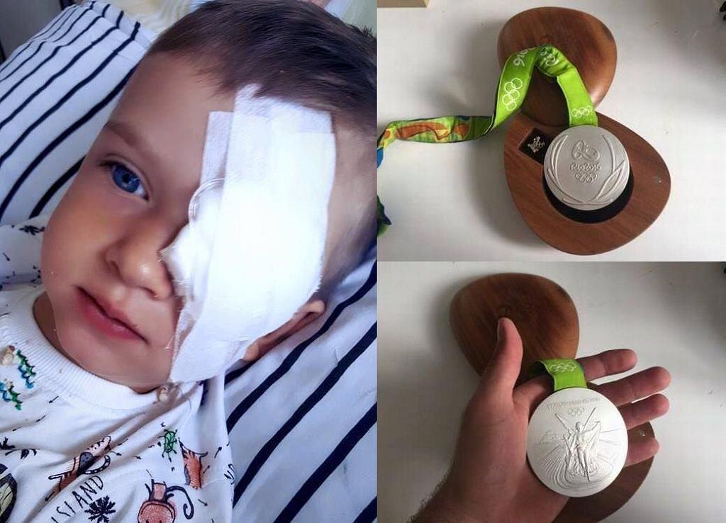 Piotr Małachowski odda medal by pomóc Olkowi