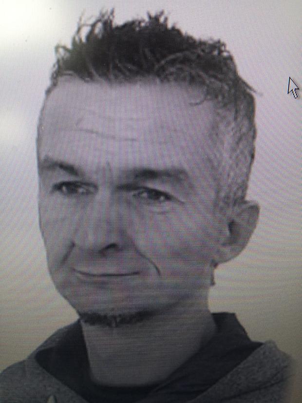 Zaginiony 42-letni Marcin Kozakiewicz.