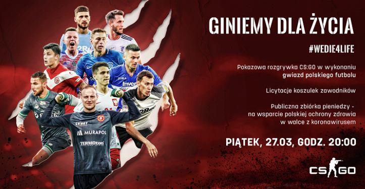 'Gramy dla życia' - charytatywny turniej w CS:GO, organizator: Wojciech Pawłowski, 2020
