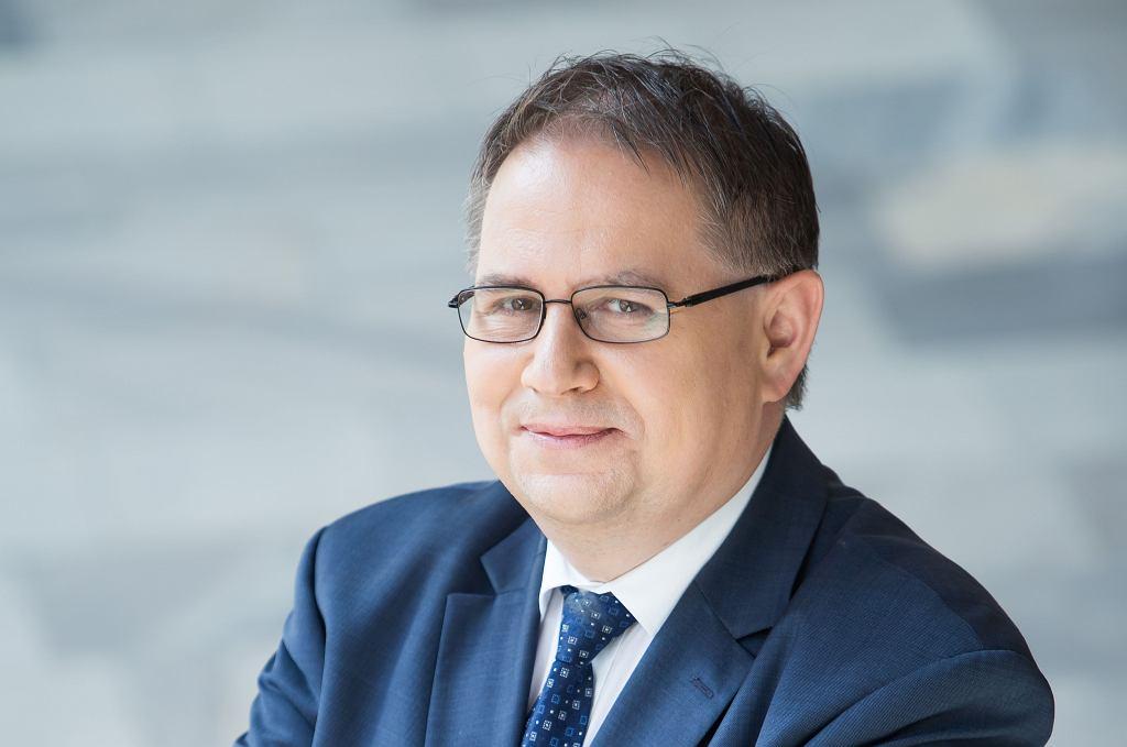 Prof. Tomasz Szczepański, rektor Śląskiego Uniwersytetu Medycznego