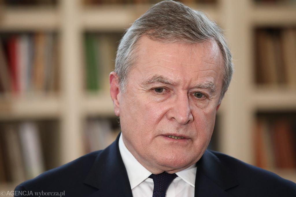 Wicepremier Gliński